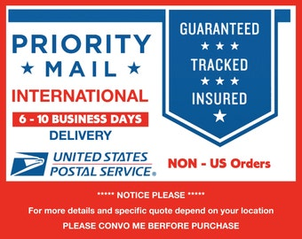 Upgrade to Priority Mail International® Flat Rate Envelope from USPS