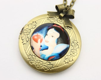 Necklace locket snow white 2020m