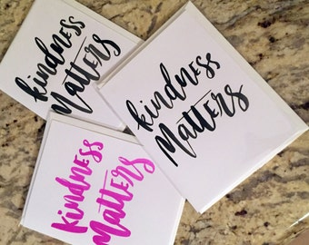 Kindness Matters -- prints or cards