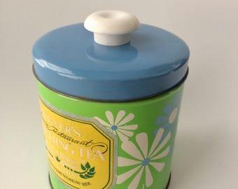 Mod Floral Tea Tin