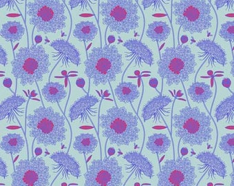 Lacey Periwinkle - Sweet Dreams - Anna Maria Horner - 100% Quilters Cotton Poplin PWAH122