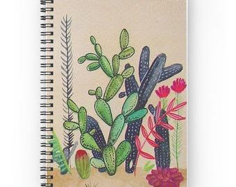 Cacti 3 - Spiral Notebook