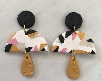 Drop earrings - 'Golden Years'