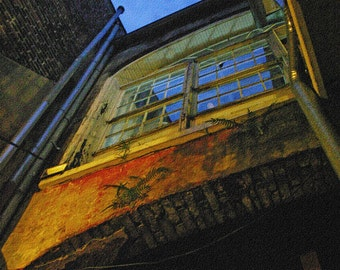 The Window - Creepy Window at Night - Digital Image Download - New Orleans - Digital License Included