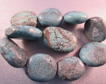 Turquoise Nuggets Beads 10pcs