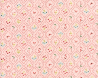 Home Sweet Home Pink 20576 12 by Stacy Iset Hsu for Moda Fabrics - Quilt, Quilting, Crafts