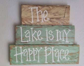 The Lake is my happy place.