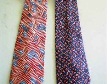 Patriotic Men's Necktie