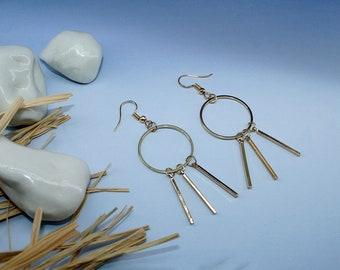 Dangling Geometric Earrings, Geometric Jewellery, Jewellery Gift, Gift for Her