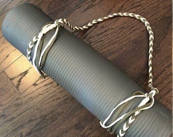 Jersey Yarn Yoga Mat Strap