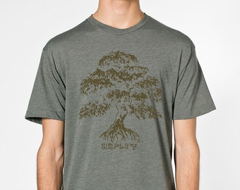 Banyan- Simplify by Chill Clothing on Lieutenant Heather t shirt