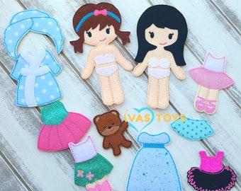Exclusive Felt Dolls Set