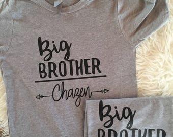 big brother shirt, big brother toddler, big bro shirt, personalized big brother shirt, toddler brother shirt, older brother shirt