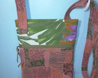 Handmade crossover body bag
