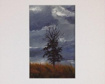 Cold Sky - Print
