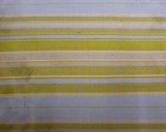 Silk blue green stripes
