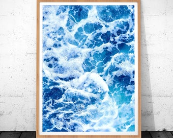 Ocean Waves Photography, Wall Art Prints, Ocean Minimalist, Ocean wall Print, Ocean Decor, Sea Photography, Nature Print , Photography Print