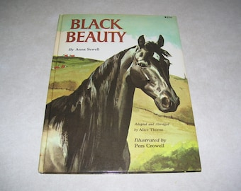 Black Beauty by Anna Sewell  Picture Book  HC 1962 Vintage