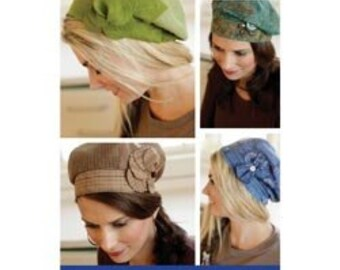 Banded Beret pattern for sewing