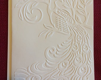 Embossed Greeting Cards