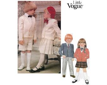 Child's Jacket, Skirt, Pants and Shorts Sewing Pattern Children's Size 3 UNCUT Vintage 1980's Vogue 1313