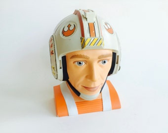1996 Star Wars Micro Machines Rebel Pilot Head Playset/Vintage Star Wars/90s Toys/Micro Machines/90s Playsets/90s Toys For Boys/Collectible