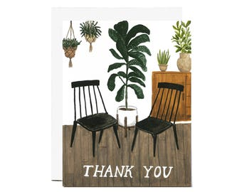Plant Thanks Card