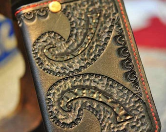 Rams Horn Super Squire: Mens Chain Wallet