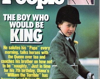 BTS People Magazine June 26, 1989 The Boy Who Would be King