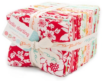 Hello Darling Fat Quarter Bundle - Bonnie and Camille - OOP  - Thimbleblossoms - Cottonway - Moda - IN STOCK
