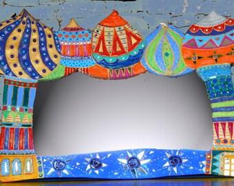 """Large mirror """"Scheherazade"""" 157cm X 100 cm"""