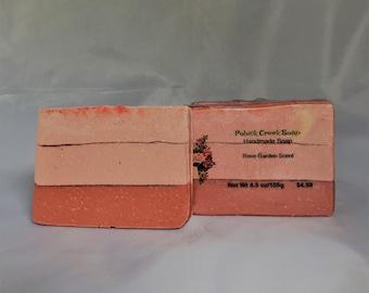 Handmade Soap - Rose Garden Scent