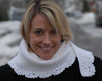 Icicles Scarf Crochet PATTERN - INSTANT DOWNLOAD