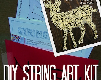 DIY String Art KIT - Bambi The Buck - All supplies included!