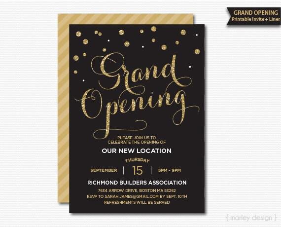Eröffnung Einladung Einladung Unternehmen Einladung Büro