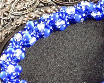 Tardis Blue Bracelet, Adjustable