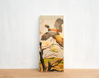 Paint by Number Art Block 'Pheasant' - vintage art, birds, hunting