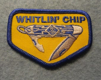 Whitlin' Chip Cub Scout  Patch