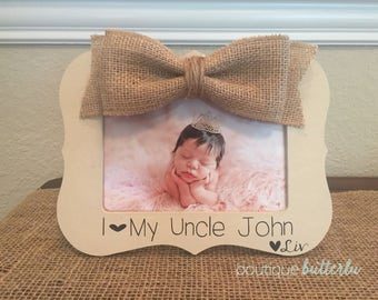 Uncle Gift Christmas Gift for Uncle Picture Frame Uncle Brother Godfather Gift Frame Great Uncle Personalized 4x6 Picture Frame Uncle