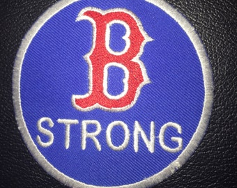 Boston Strong    3.5  inch iron on  or sew on patch