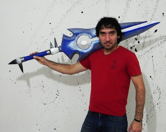 Legendary Thunderfury Blessed Blade of the Windseeker from World of Warcraft cosplay prop