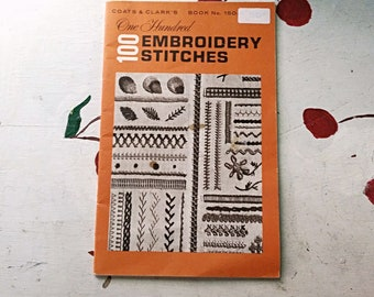 Vintage Embroidery Book