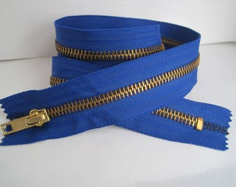 """This Listing is for a New 24"""" Blue #5-Extra Heavy-Duty Brass Separators-Open Top/Closed Bottom"""