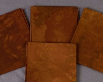 Polished Oak Hand-Dyed Quilting Cotton Fat Quarter