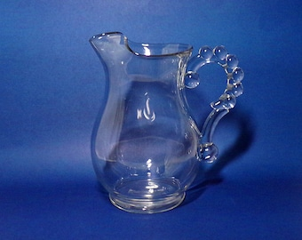 Vintage Imperial Glass Candlewick Pitcher