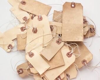 100 Mixed Tags. Anthropologie Travel Theme Vintage Wedding Place Card. Name Tag. Escort Card. Wish Tree. Luggage.  Boho. Destination Wedding