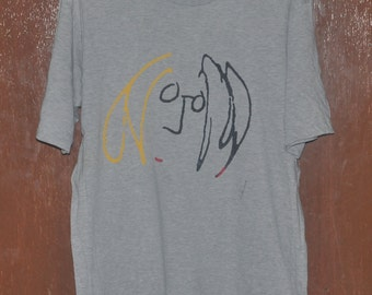 Vintage 90's John Lennon Love and Peace The Beatles T-Shirt