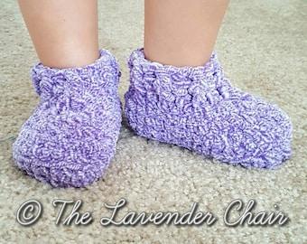Little Cloud 9 Slippers Crochet Pattern *PDF DOWNLOAD ONLY* Instant Download