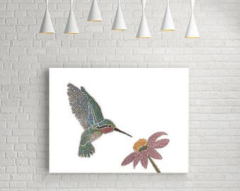 humming bird fine art print