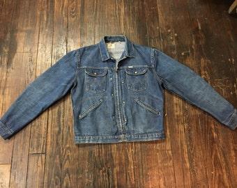 Vintage 1950's Wrangler Blue Bell Denim Jacket